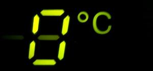 Как поставить знак градуса
