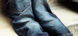 Как сшить детские джинсы