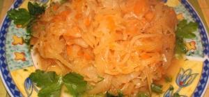 Как тушить квашенную капусту