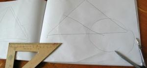 Как найти точку пересечения медиан треугольника