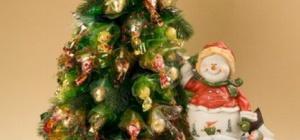 Как сделать самому новогоднюю елку