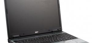 Как разобрать Acer 3610