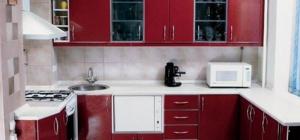 Как крепить кухонный гарнитур