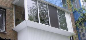 Как стеклить балкон