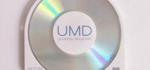 Как записать диск UMD