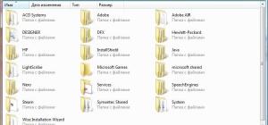 Как удалить скрытые файлы и папки