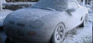 Как завести замерзший двигатель