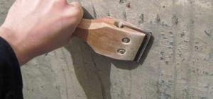 Как очистить старую краску от стены