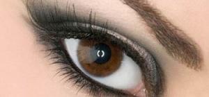Как накрасить красиво глаза черным карандашом