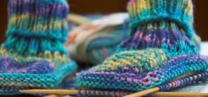Как вязать носки: рукодельнице на заметку