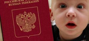Как заполнять анкету на загранпаспорт нового образца для детей