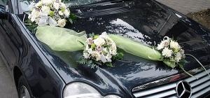 Как найти украшения для автомобиля на свадьбу