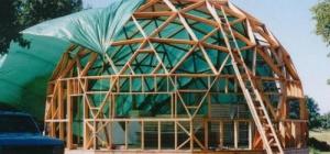 Как изготовить купол