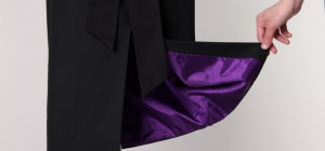 Как украсить женскую юбку