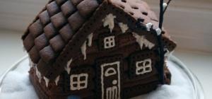 Как испечь домик