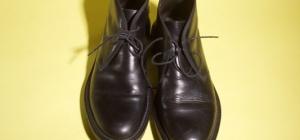 Как мыть туфли