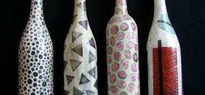 Как декорировать бутылки