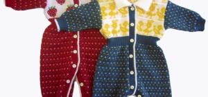 Как вязать спицами для новорожденных