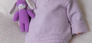 Как связать спицами одежду новорожденным