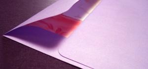 Как оформить конверт