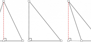 Как найти высоту треугольника