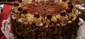 Как готовить шварцвальдский торт с вишнями