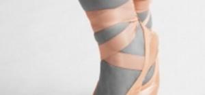 Как визуально удлинить ногу
