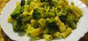 Как готовить макароны с брокколи