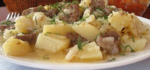 Как приготовить картофель с мясом