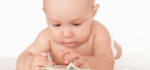 Как начислить пособие по уходу за ребенком