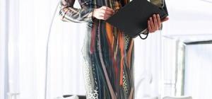 Как сшить платье из трикотажа