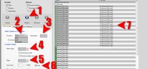 Как пронумеровать файлы