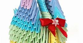 Как сделать лебедя в модульном оригами