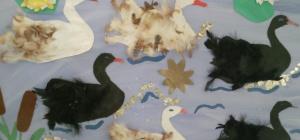 Как сделать поделку птицу