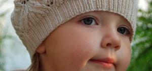 Как связать берет для ребенка