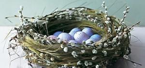 Как сплести гнездо