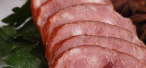Как резать колбасу