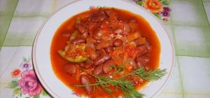 Как приготовить фасоль в томате