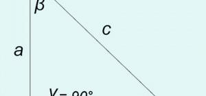 Как найти угол прямого треугольника