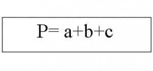 Как вычислить периметр треугольника