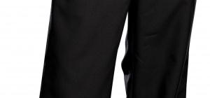 Как подшить мужские брюки