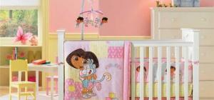 Как поставить детскую кроватку