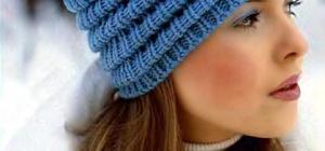 Как закончить вязание шапки