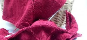 Как набирать воздушные петли на спицах