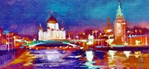 Как нарисовать Москву