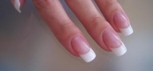 Как наращивать ногти на типсах акрилом