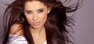 Как уложить прямые волосы
