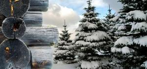 Как нарисовать зимний рисунок