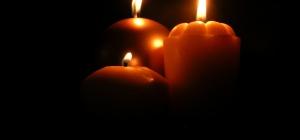 Как сфотографировать свечу