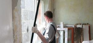 Как монтировать окна